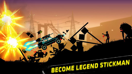 Stickman Racer Survival Zombie Hack Mod