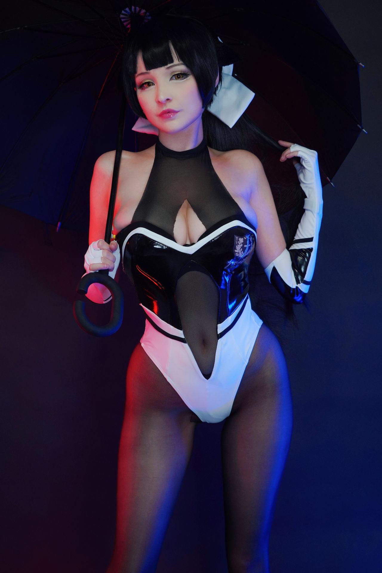 Hidori Rose Takao Race Queen Cosplay
