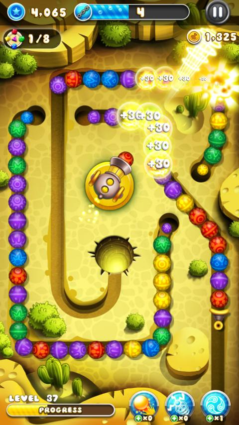 Marble Blast Saga v1.0.7 [Mod] APK Casual Games Free Download