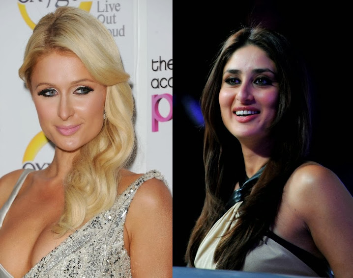 Paris Hilton and Kareen Kapoor Khan