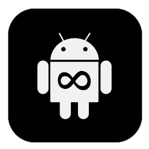 Black Infinitum Theme - Dark v4.7.3 APK Personalization Apps Free Download