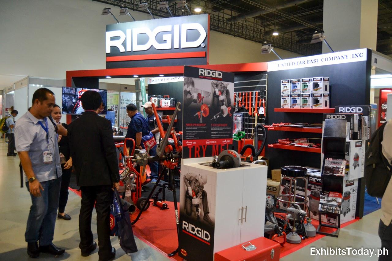 Ridgid Exhibit Booth