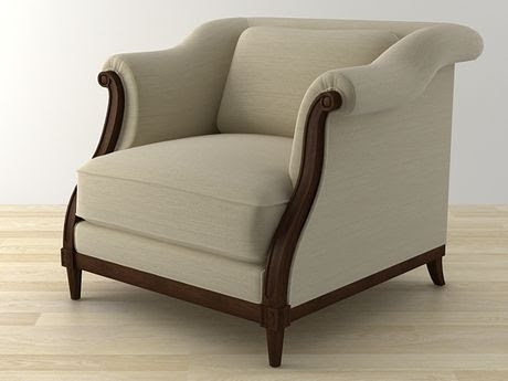 [3Dsmax] 3D model free - Exposed Wood Lounge
