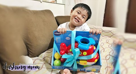 Toy Review with #HarveyAndreiAdventures  VTech Philippines Explore and Learn Helicopter