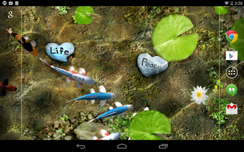 Koi Live Wallpaper PREMIUM (PRO) for ANDROID » ¦¦ Syaif Rohmadi's Blog