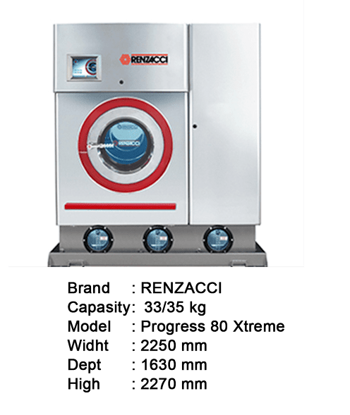MESIN DRY CLEAN LAUNDRY/DRY CLEAN - Commercial Kitchen