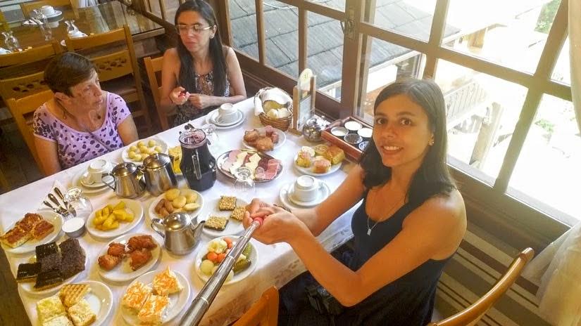 Rio Grande do Sul - Diário de Bordo de Gramado - Bela Vista Café Colonial