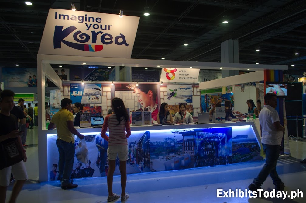 Korea Tourism Organization Exhibit Display