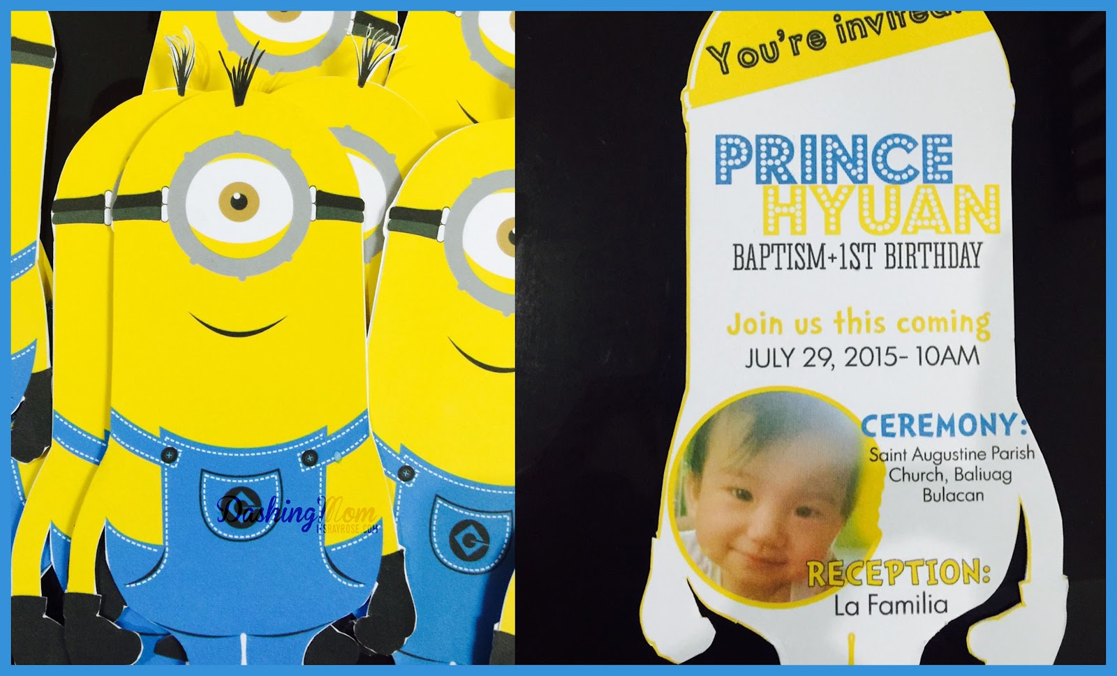 minion invitation
