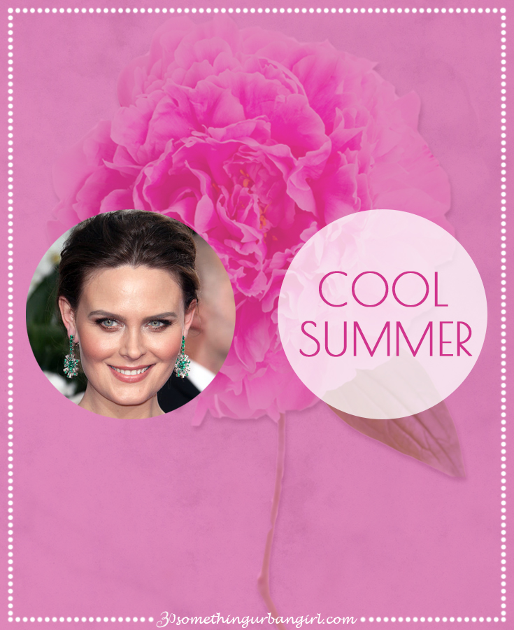 Learn more about the Cool Summer seasonal color palette on 30somethingurbangirl.com
