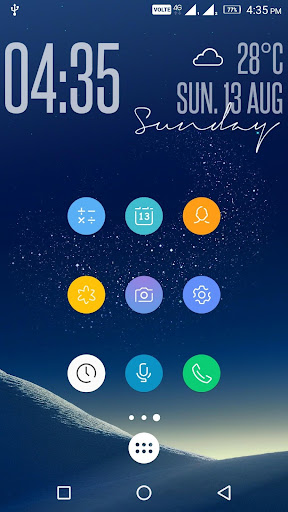 Pixel UX S8 - Icon Pack miễn phí.