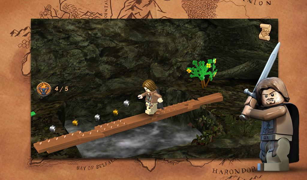 Free Download LEGO® The Lord of the Rings™, Gratis Android Game