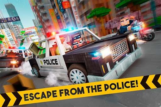 Game Đua Xe ôtô Cảnh sát 3D Robber Race Escape Hack