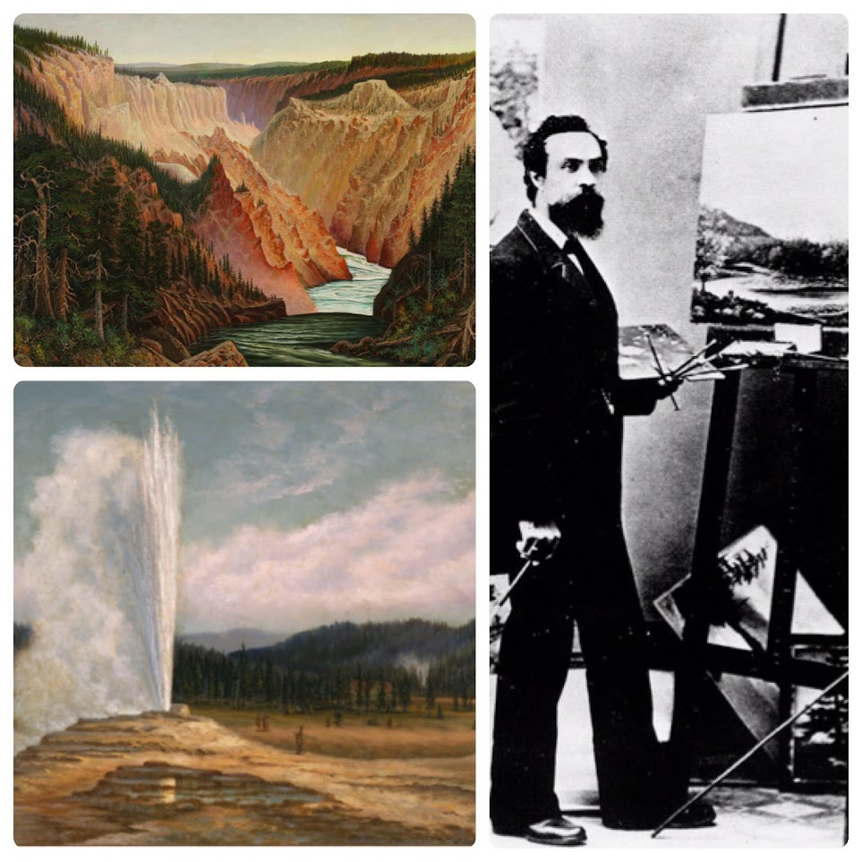 Famous Yellowstone artist Grafton Tyler Brown