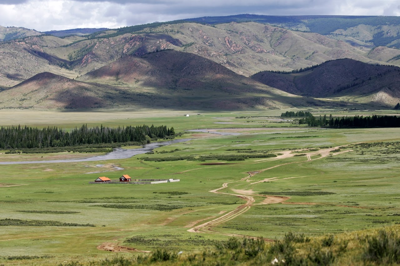 podróże motocyklowe do Mongolii