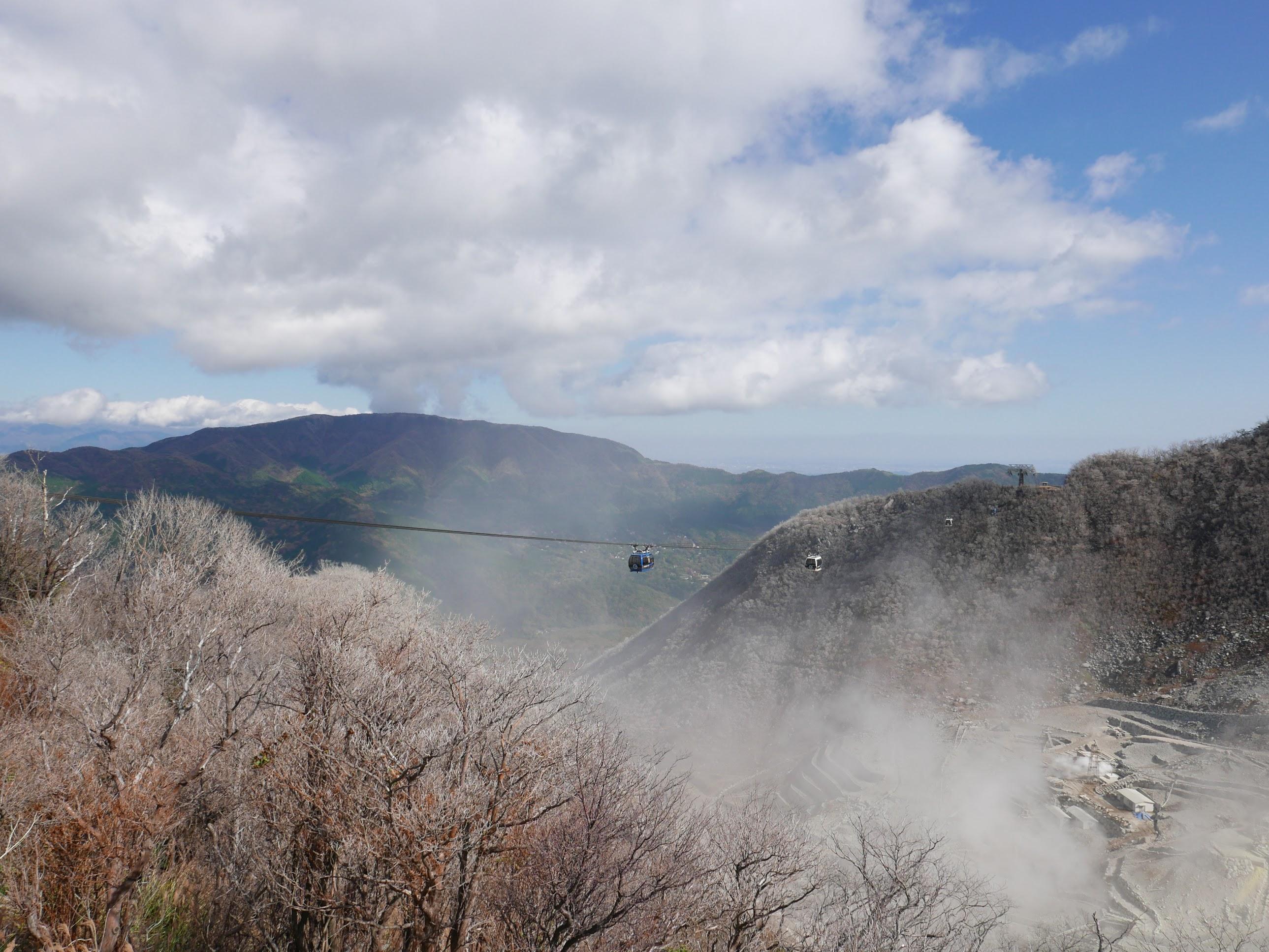丹尼私遊記: 第八章 - 箱根町:富士山之初見