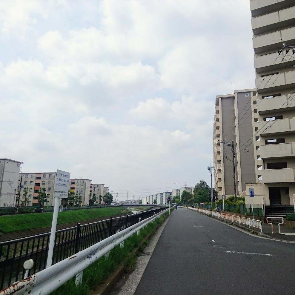 境川自転車道 いちょう団地