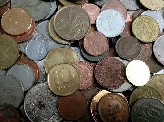 100 World Coins Different Coins At least 50 Countries, All Different