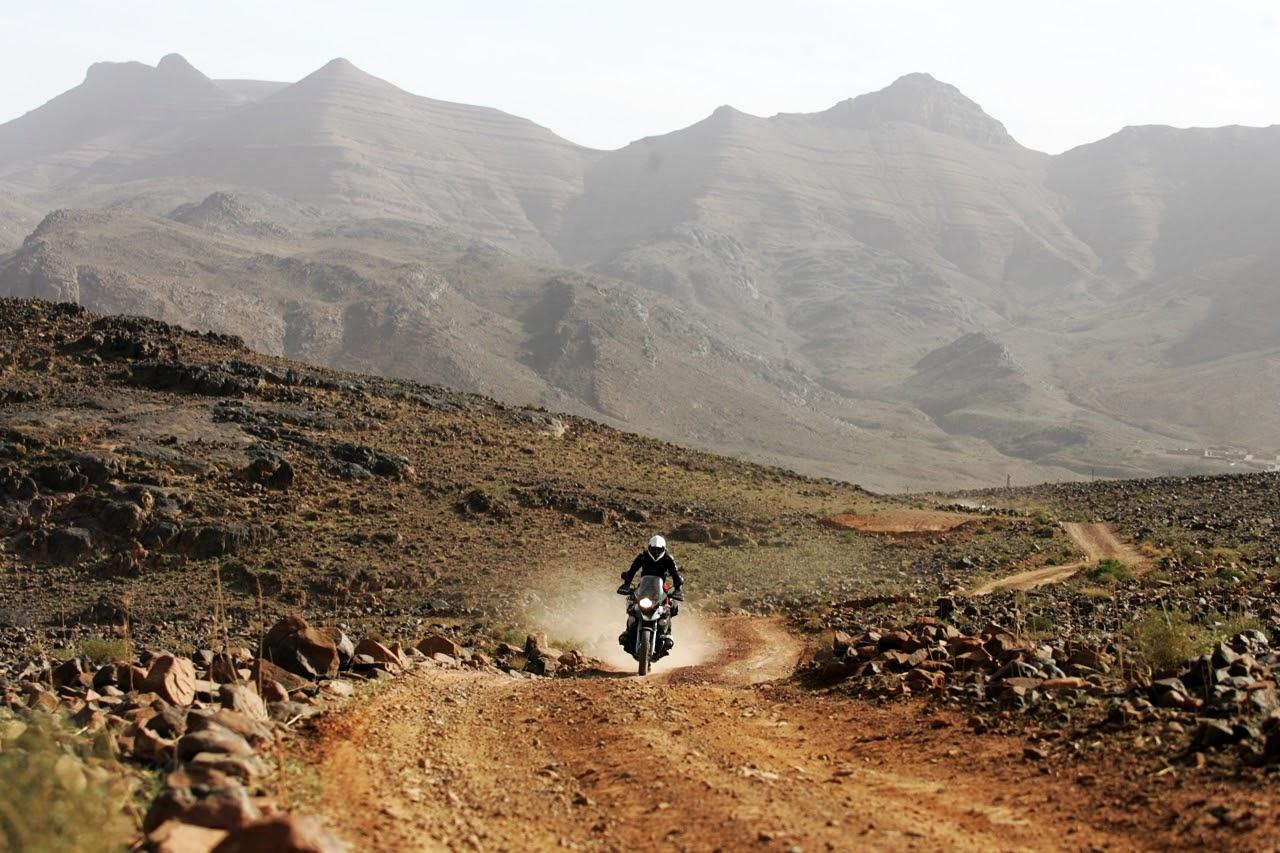 motocyklem do maroka