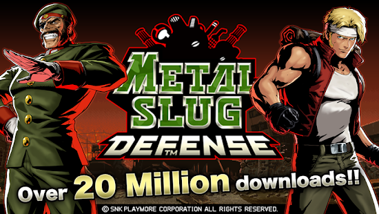 Metal Slug Defense Mod Apk Unlimited Money Terbaru 2015