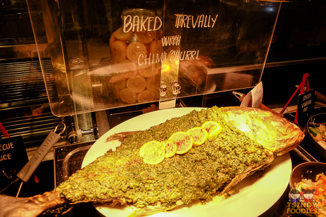baked trevally