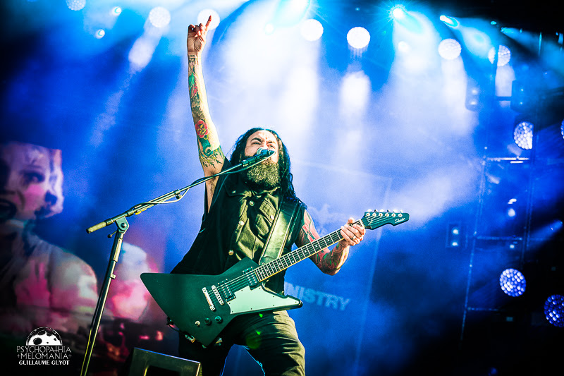Ministry @Hellfest 2017, Clisson 16/06/2017