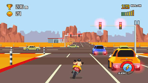 Tải Retro Highway Mod Full Cho Android