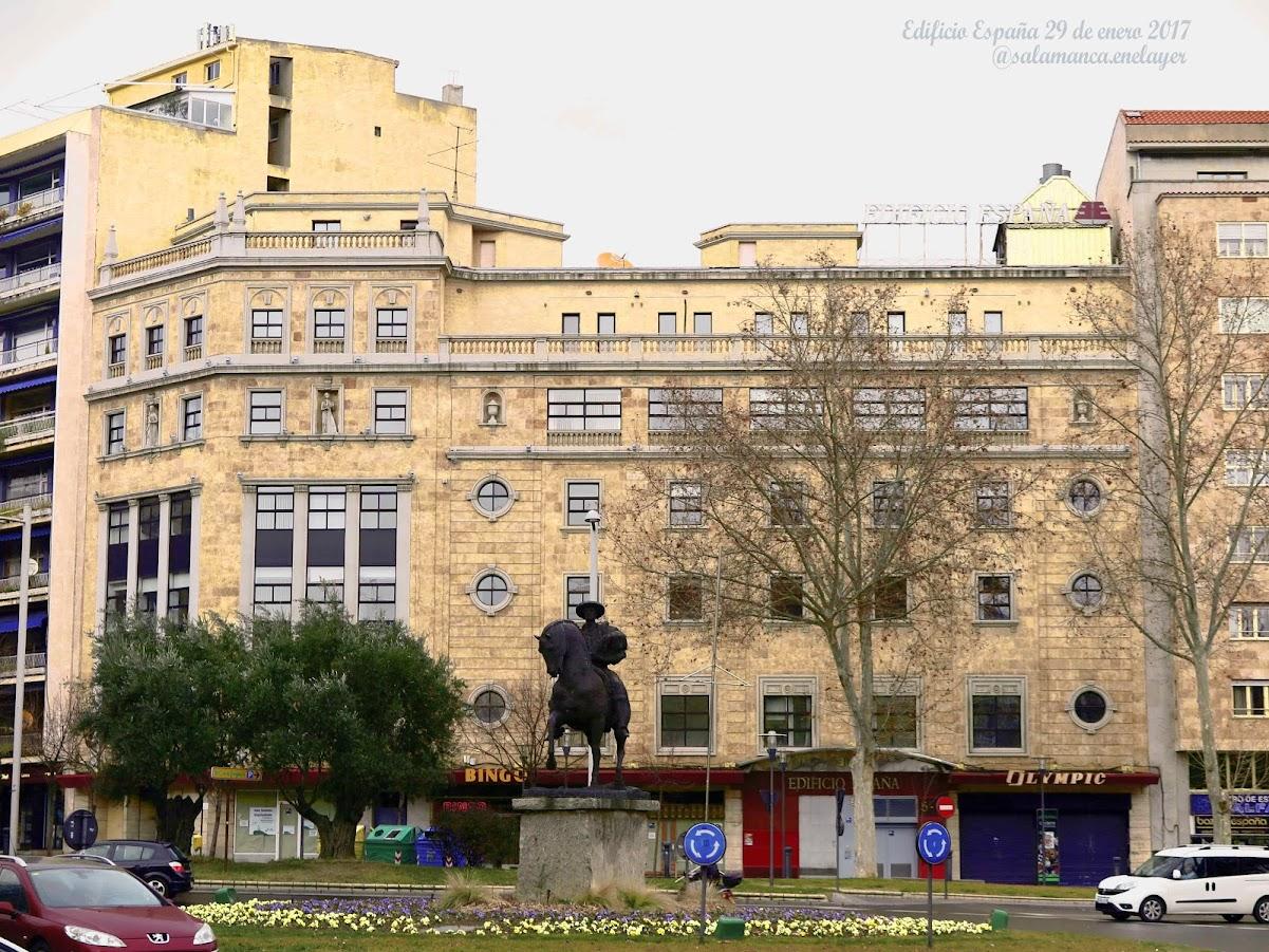 Salamanca en el ayer el edificio espa a - Oficina virtual de caja espana ...