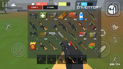 Zombie Craft Survival Mod Cho Android