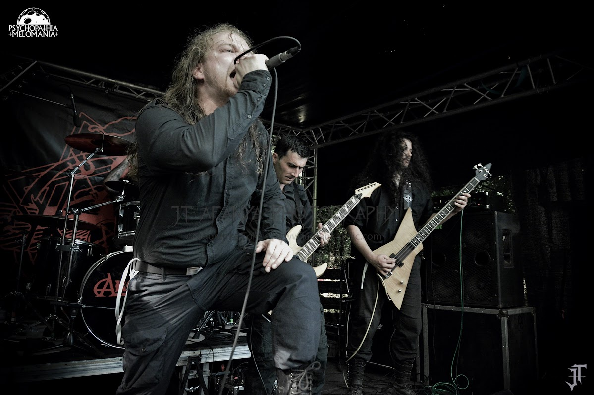 Hallig @Under The Black Sun XVIII, Helenenauer, Allemagne 03/07/2015