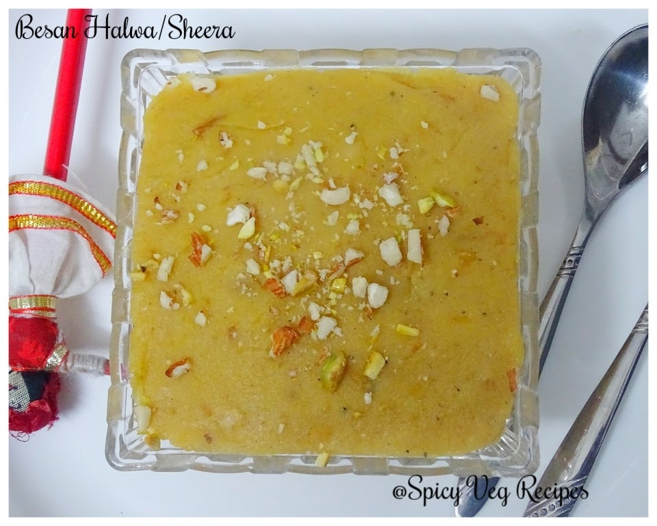 Desserts |Sweets | Mithai Recipes, Festivals N Occasions, Besan Ka Halwa is a popular Indian sweet dish, especially during festivals. Besan ka halwa is mainly prepared from these four ingredients gram flour, ghee, milk, and sugar.  Halwa Recipe, North Indian, Regional Indian Cuisine, Traditional Sweets, step by step, besan recipes,