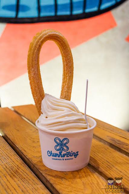 churros ice cream