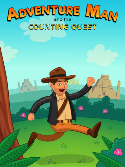 Game Adventure Man And The Counting Quest Efl Kids