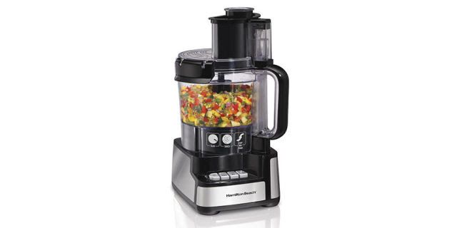 Hamilton Beach Stack & Snap 12 Cup Food Processor #70725