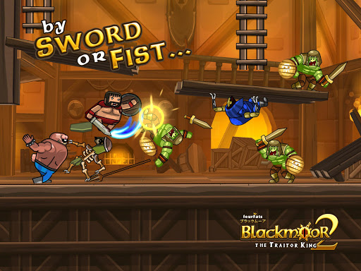 Blackmoor 2 The Traitor King Mod Full Tiền Vàng Cho Android