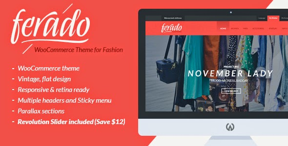 Ferado - WooCommerce Fashion Theme 2015 : eAskme