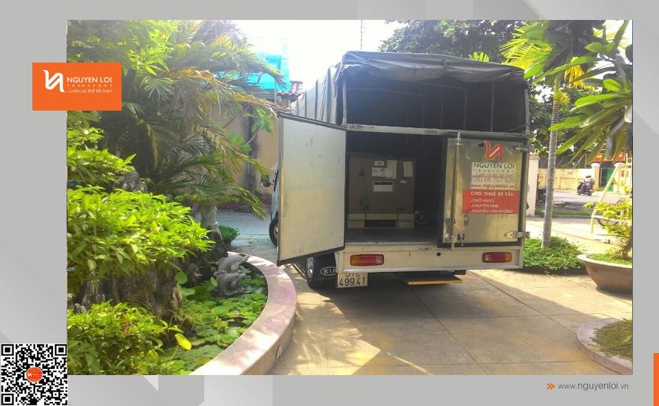 Thuê xe tải chở hàng - Phan Thiết