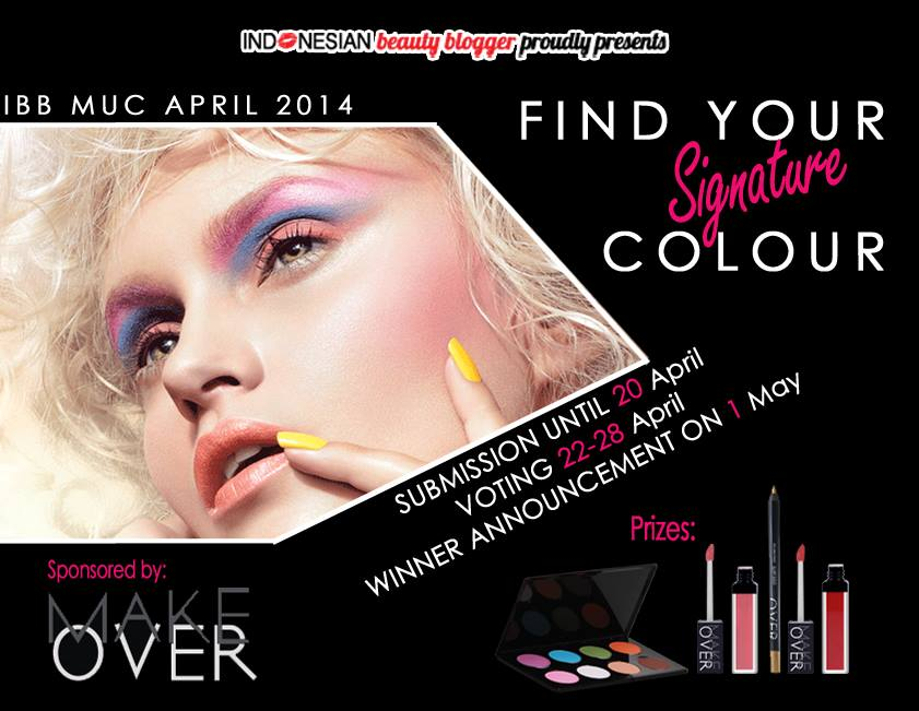 "IBB MUC April 2014 feat. Make Over Indonesia ""FIND UR Signature Color"""