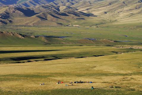 podróż motocyklem do Mongolii
