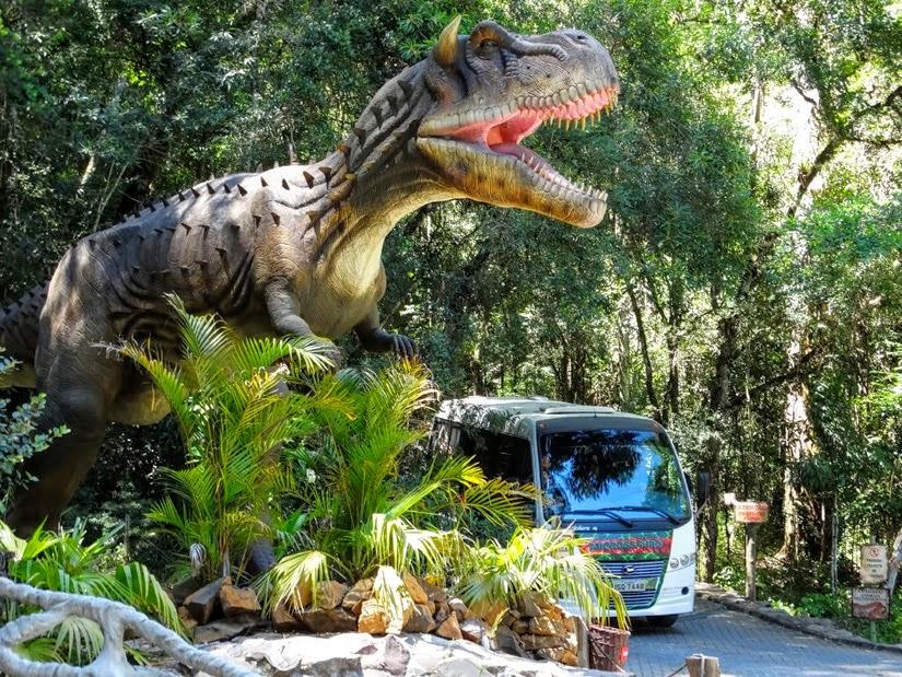 Vale dos Dinossauros - Rio Grande do Sul - Diário de Bordo - Canela
