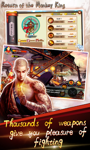 Return of the Monkey King Hack Full Tiền Vàng Cho Android