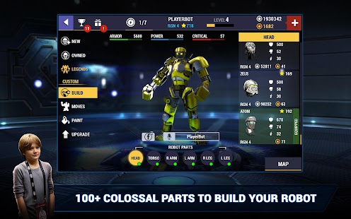Champions Real Steel v1.0.75 APK [UNLIMITED MONEY]