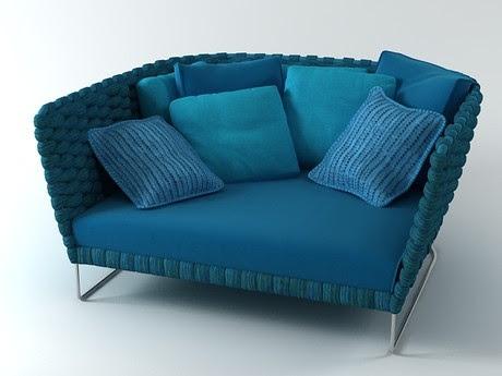 [3Dsmax] 3D model free - Ami sofa 157