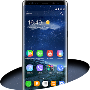 Note 8 is not just a regular mobile home screen decoration, it contains a vast collection of themes and HD wallpapers,