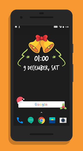 Christmas Zooper Widgets