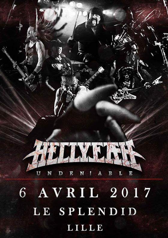 HellYeah + Unswabbed @Le Splendid, Lille 06/04/2017