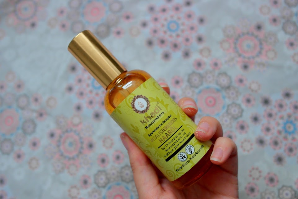 khadi hair oil review