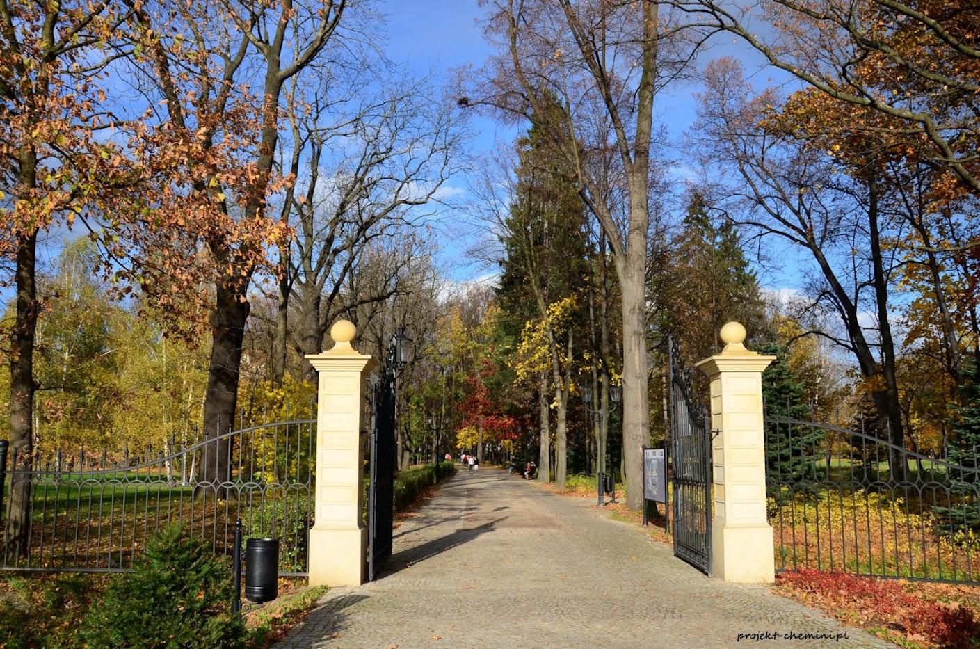 Park Zdrojowy- brama
