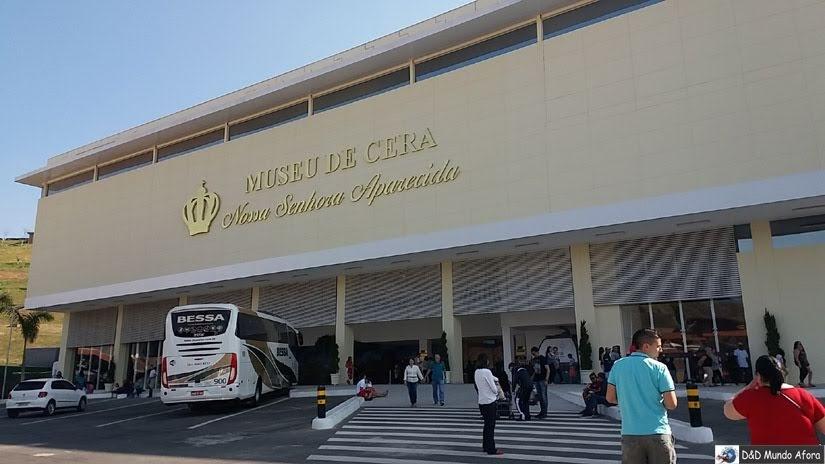 Museu de Cera - o que fazer em Aparecida - São Paulo