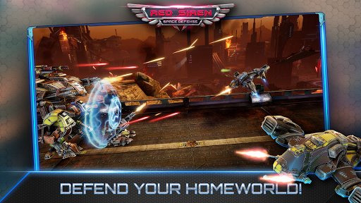 Red Siren Space Defense Mod Full